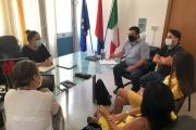 Incontro tra UTC e l'assessore Francesca Viggiano per programmare le azioni di promozione e partecipazione riguardanti i progetti dell'amministrazione Melucci