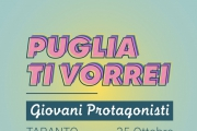 """Puglia ti vorrei"", lunedì la tappa tarantina"