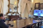 Incontro in videoconferenza tra il sindaco Rinaldo Melucci e i responsabili di zona degli Scout di Taranto.