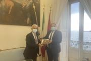 Il nuovo questore di Taranto, Massimo Gambino, è stato accolto a Palazzo di Città dal sindaco Rinaldo Melucci.