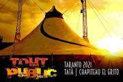 """Il tendone del circo """"El Grito"""" nel quartiere Tamburi, giovedì 16 settembre il debutto aperto alla stampa"""