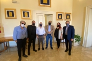 Visita a Palazzo di Città di Taranto di una delegazione dell'associazione Italy Carbon Free.