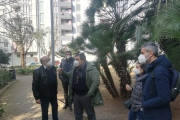 Sopralluogo dell'UTC e dell'assessore Castronovi con i cittadini di zona Tramontone.