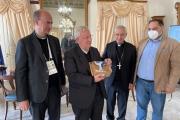 Cardinal Bassetti a Palazzo di Città. Melucci: «Taranto protagonista della 49esima Settimana Sociale dei Cattolici Italiani, grazie alla CEI per la qualità delle riflessioni proposte»
