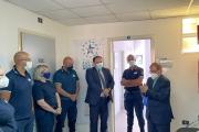 Visita del sindaco Rinaldo Melucci all'Ufficio delle Dogane di Taranto