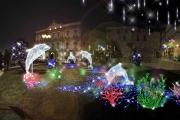 Arrivano questo Natale a Taranto, per la prima volta in Puglia, le luminarie d'artista.
