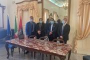 Il sindaco Rinaldo Melucci ha incontrato i presidenti di Kyma Ambiente, Kyma Mobilità e Kyma Servizi.