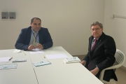 Il ministro Giovannini a Taranto, Melucci: «Con lui sintonia consolidata, abbiamo parlato di progetti per la città»